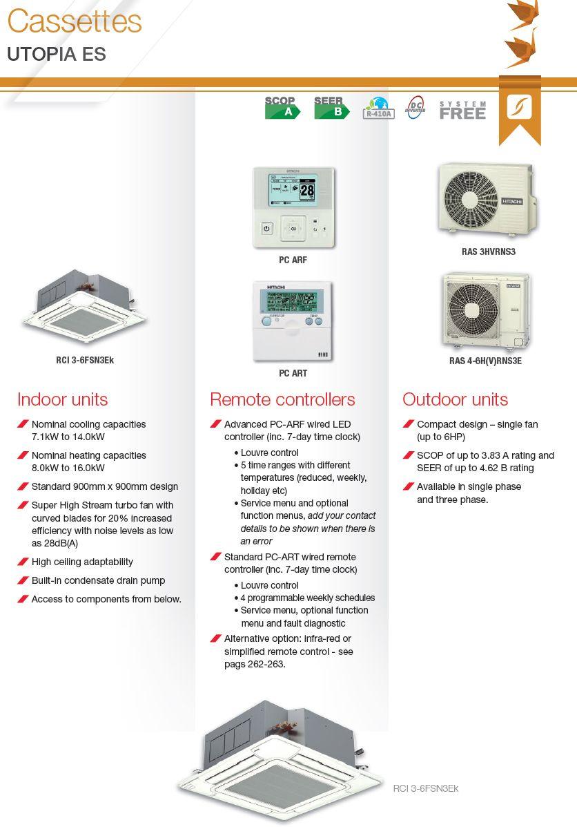 Hitachi air Conditioning Manual